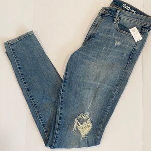 GAP NWT Destructed [ TALL ] Skinny Jeans